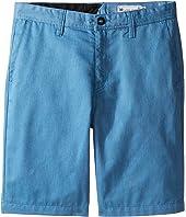 Volcom Kids Frickin Chino Shorts (Big Kids)