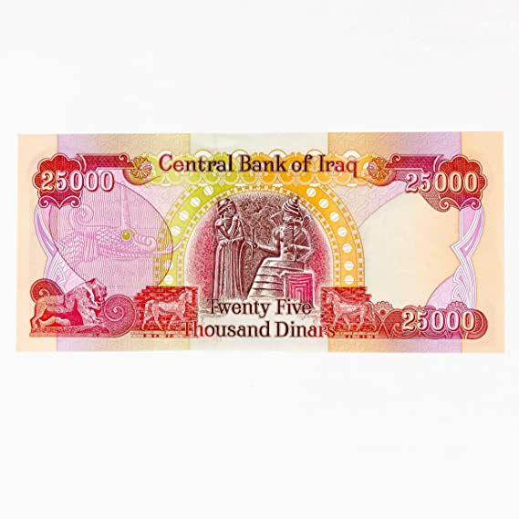 AUTHENTIC FAST SHIPPING 10 x 25,000 IQD BankNotes 1//4 MILLION IRAQI DINAR