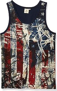 AKADEMIKS Mens A26TA01 Power Americana Tank Top Tank Top/Cami Shirt