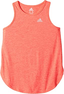 adidas Kids - Cool Down Melange Tank Top (Big Kids)