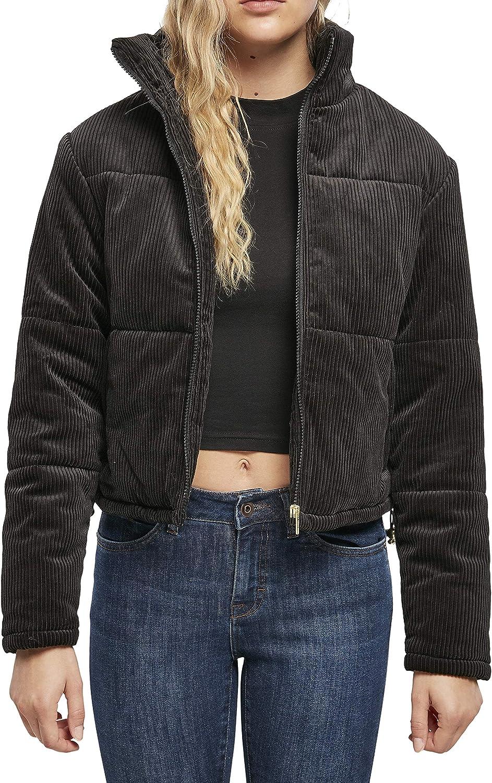 Urban Classics Ladies - Corduroy Puffer Jacket