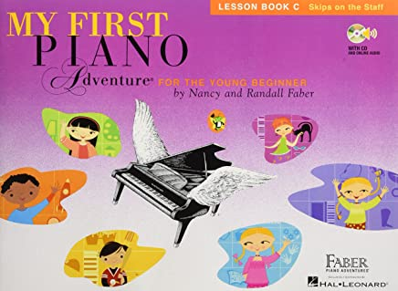 My First Piano Adventure for the Young Beginner: Lesson Book C Skips on the Staff