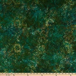 Robert Kaufman Kaufman Tavarua 2 Snake Skin Green Fabric