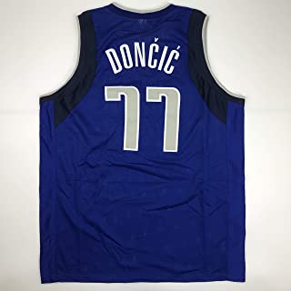 b0392d6353a Unsigned Luka Doncic Dallas Blue Custom Stitched Basketball Jersey Size  Men's XL New No Brands/