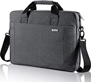 Voova Laptop Bag 15.6 15 14 Inch Briefcase, Expandable Computer Shoulder Messenger Bag Waterproof Carrying Case Handbag wi...