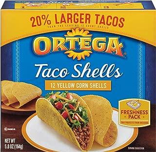 Ortega Taco Shells, Yellow Corn, 12 ct