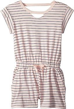 Splendid Littles - Yarn-Dye Stripe Romper (Big Kids)
