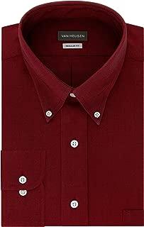 Men's Dress Shirt Regular Fit Oxford Solid
