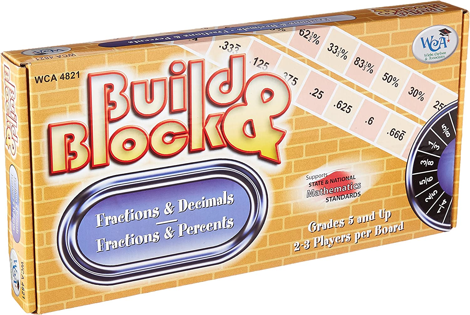 Learning Advantage 4821 Build and Block Game, Grade  3, 12.5  Height, 1.5  Width, 6.25  Length