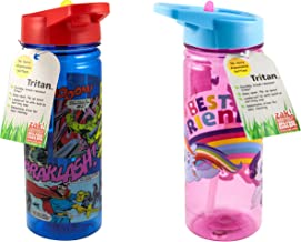 Zak Tumbler Sip Water Bottle 19 Ounce, Colors and Styles Vary, 1-Pack