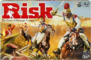 Gaming Risk Game with Dragon; for Use with Amazon Alexa; Strategy Board Game Ages 10 and Up; with Special Dragon Token