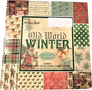 Old World Winter Christmas Paper Pack 6