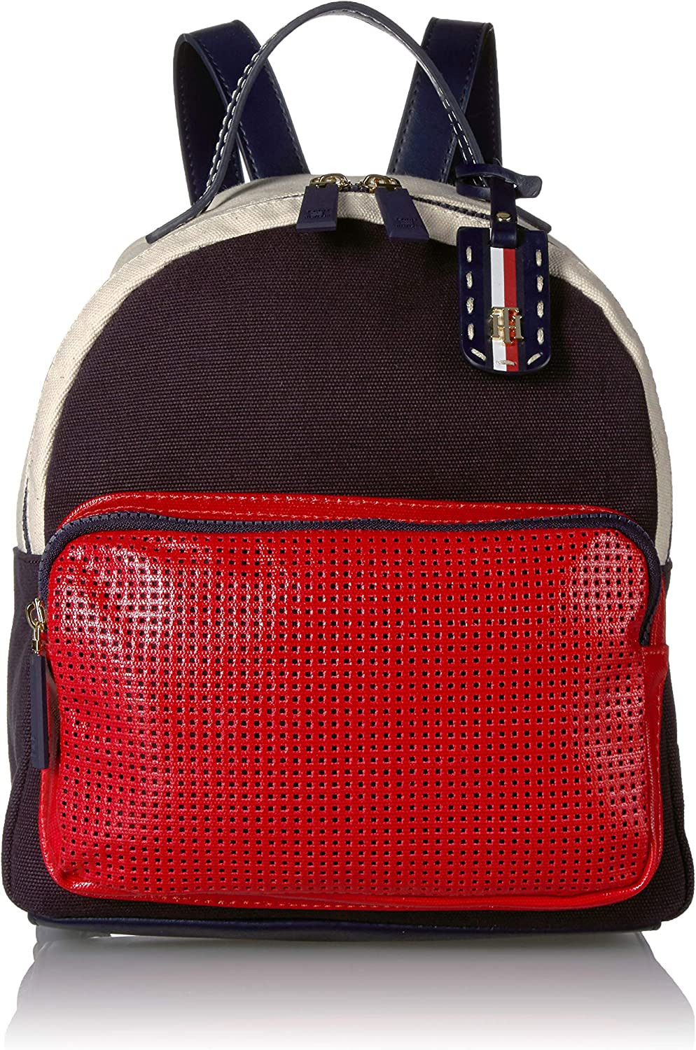 TOMMY HILFIGER Backpack 期間限定送料無料 for Women Navy Julia Red ◇限定Special Price