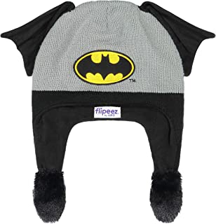 Winter Hat, Batman Squeeze and Flap Fun Cold Weather...