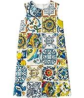 Dolce & Gabbana Kids - Knit Maioliche Dress (Big Kids)