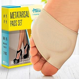 بالشتک های توپی (2 تکه) - پد های متاتارسال | پدهای جلوی پا از پارچه نرم - آستین پا مورتون نوروما - جلوگیری از درد و ناراحتی