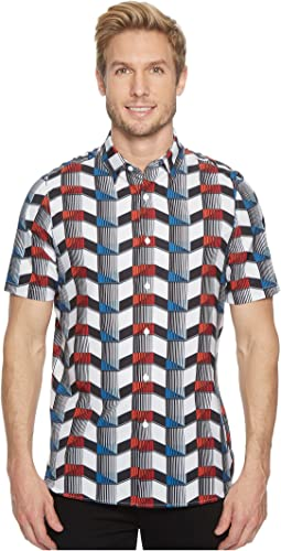 Perry Ellis - PE360 Printed Total Stretch Shirt
