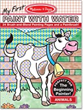 Melissa & Doug My First Paint With Water Coloring Book - Animals