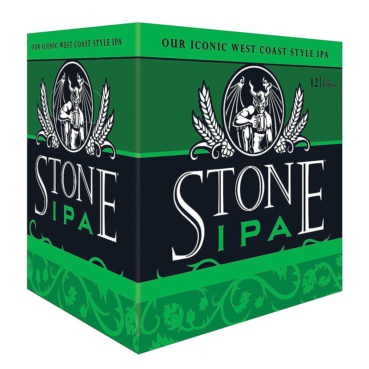 ラッカス不適当要塞アメリカ クラフトビール業界のカリスマ ブリュワリーの看板商品 ストーン IPA 355ml x 12本