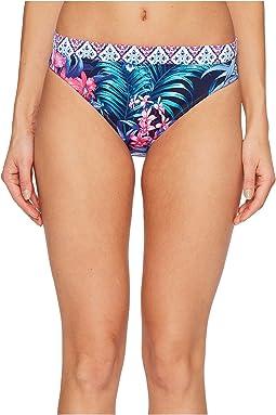 Majorelle Jardin Reversible Hipster Bikini Bottom