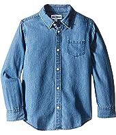 DL1961 Kids - Franklyn Chambray Shirt (Toddler/Little Kids)