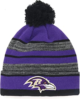 NFL Men's OTS Huset Cuff Knit Cap with Pom