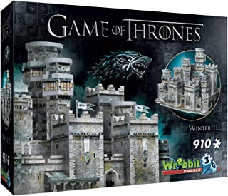 Wrebbit 3D - Game of Thrones Winterfell 3D Jigsaw Puzzle - 910Piece