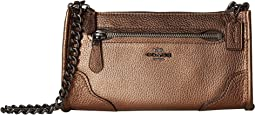 Grain Leather Mickie Crossbody