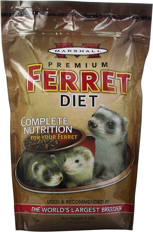 Amazon.com Marshall Premium Ferret dieta  Productos para Animales