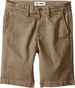DL1961 Kids - Jacob Chino Shorts in Cannon (Big Kids)