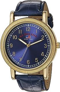 Polo Assn. ساعت مچی کوارتز آنالوگ مردانه بند بند مصنوعی ، آبی ، 21 (مدل: US5223)