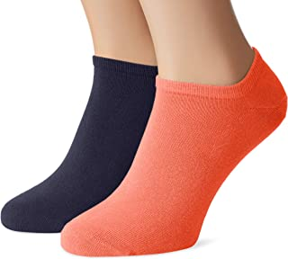 Tommy Hilfiger, Th Men Sneaker 2p Calcetines, Naranja (Coral 009), 47/50 (Talla del fabricante: 47/49) (Pack de 2) para Hombre