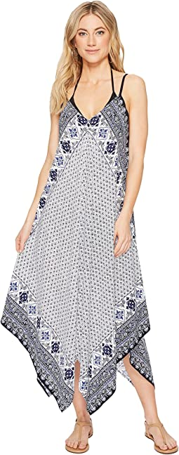 Tommy Bahama - Tika Tiles Scarf Dress Cover-Up