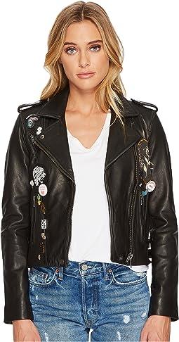 Pin Moto Jacket
