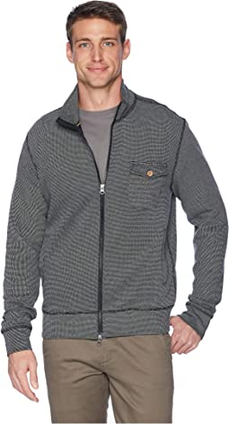 Cut Cord Full Zip Cardigan