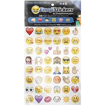 Boxer Emoji adhesivo (Pack de 6 hojas): Amazon.es: Oficina y papelería