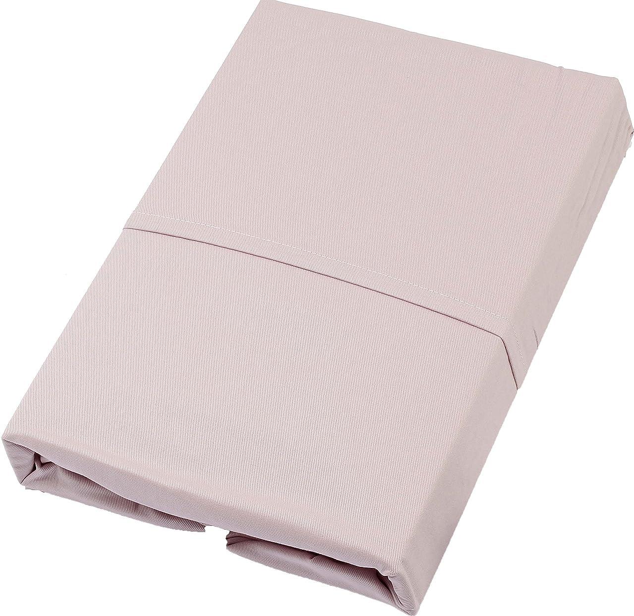 高音ガチョウ薬理学西川(Nishikawa) ピンク セミダブル120×200×30cm 京都西川 ベッドシーツ ボックスシーツ 洗える 綿100% TW-B-SD