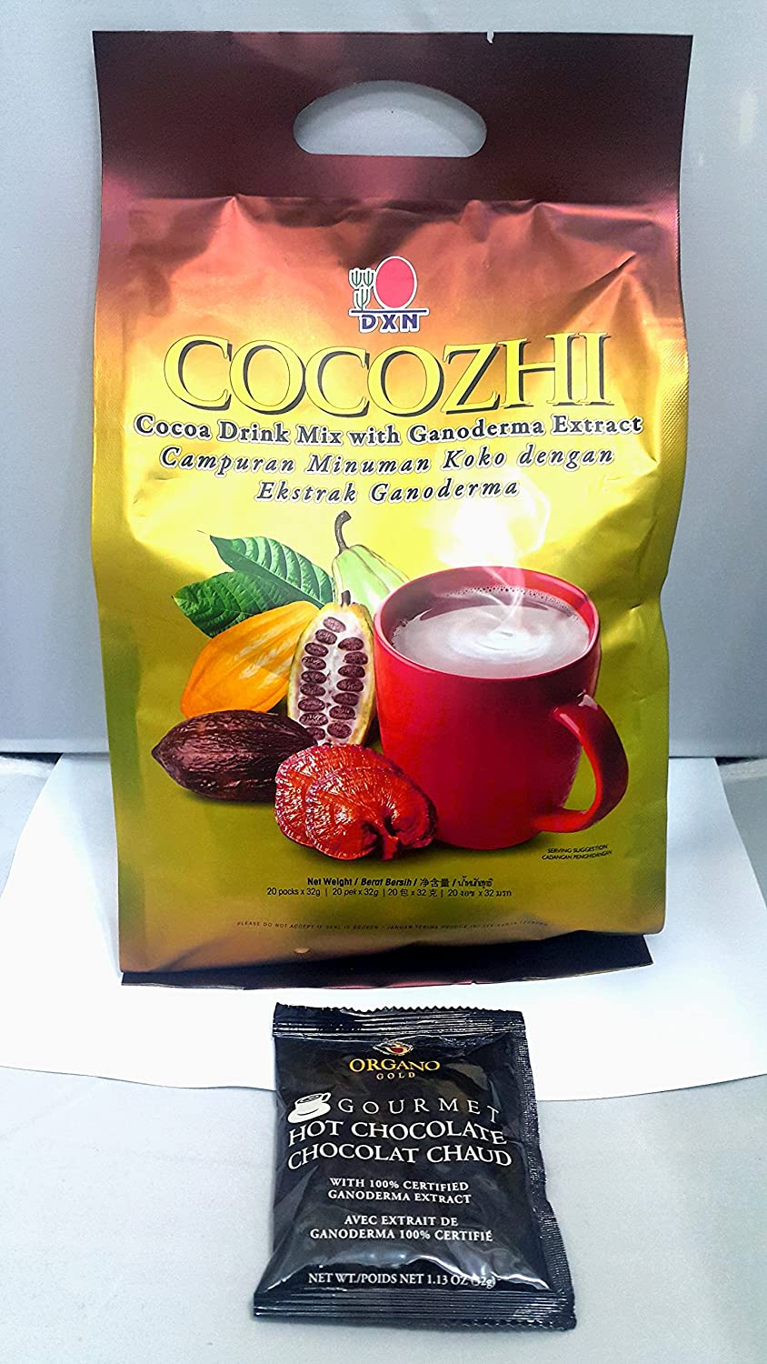 DXN security Cocozhi Cocoa Flavoured Excellence Ganoderma Beverage Extract with