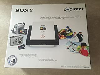 Sony VRD-MC1 DVDirect External USB 2.0 Multi-Function 16x DVD Recorder