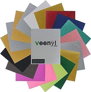 Best cheap glitter heat transfer vinyl Reviews