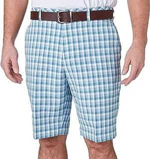 Men's Perfect 11 Brush Stroke Plaid Golf Shorts