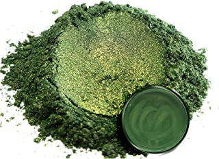 "Eye Candy Mica Powder Pigment ""Bonsai Green"" (50g) Multipurpose DIY Arts and Crafts Additive 