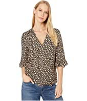 Rebecca Taylor - Long Sleeve Louisa Floral Top