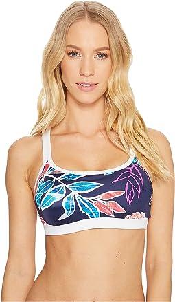 Tommy Bahama - IslandActive Graphic Tropics Banded Scoop Bikini Bra