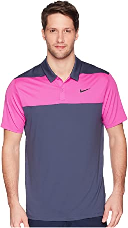 Color Block Dry Polo