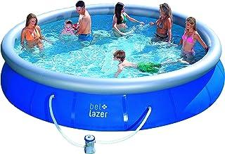Piscina Inflável Bel Fix Bel Life Azul 11.000l/457x91cm