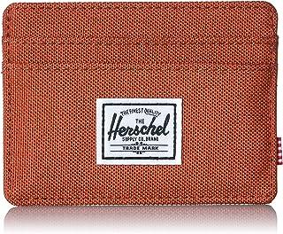 Herschel Supply Co. mens Charlie Rfid Card Case Wallet - red - One Size