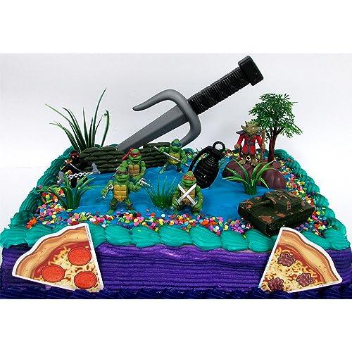 Superb Ninja Turtles Cake Amazon Com Funny Birthday Cards Online Overcheapnameinfo