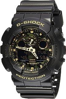 Casio Men 's ga-100cf-1a9cr G-shock camuflaje reloj con correa de resina negra