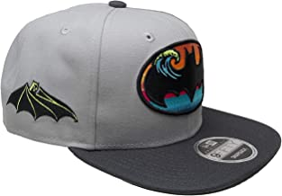 B62830000 570B6783000001 EN DC Comics Batman New Era Custom 9Fifty of Snapback - Gray, Graphite, Black